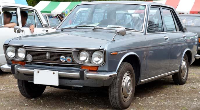 ブルーバード510型4ドアセダン