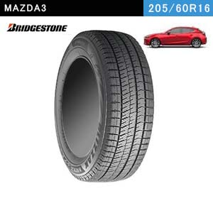 MAZDA3におすすめのBRIDGESTONE BLIZZAK VRX2 205/60R16 92Qのスタッドレスタイヤ