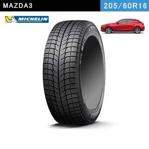 MAZDA3におすすめのMICHELIN X-ICE 3+ 205/60R16 96H XLのスタッドレスタイヤ