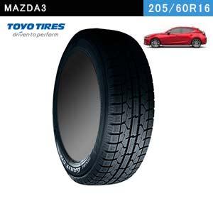 MAZDA3におすすめのTOYO TIRES OBSERVE GARIT GIZ 205/60R16 92Qのスタッドレスタイヤ