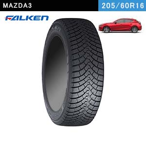 MAZDA3におすすめのFALKEN ESPIA W-ACE 205/60R16 92Hのスタッドレスタイヤ