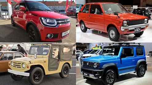 スズキの歴代車種まとめ!軽自動車や小型車の名車一覧