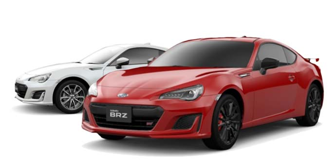スバル BRZ 2台
