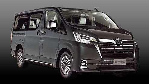 新型グランビアが台湾トヨタで発表!高級ミニバンとして日本導入の期待も高まる