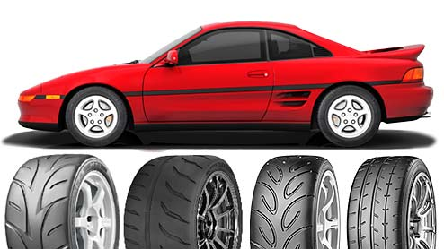 MR2のタイヤ~ハイグリップなストリートスポーツタイヤやSタイヤがおすすめ