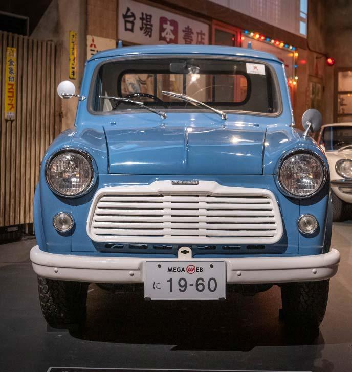 ダットサン 1000 トラック(G222型)1960年式のフロントビュー