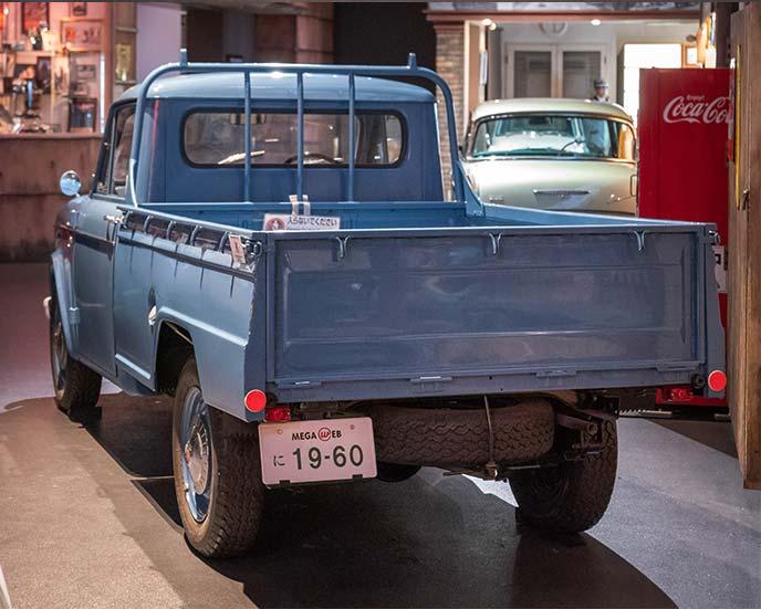 ダットサン 1000 トラック(G222型)1960年式のリヤビュー