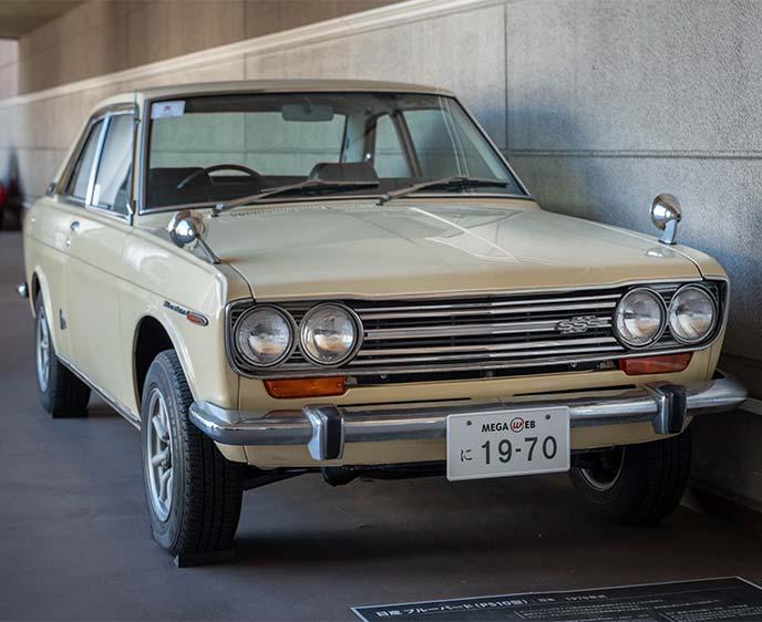 日産ブルーバード P510型 1970年式のフロントビュー