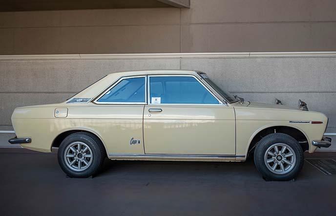 日産ブルーバード P510型 1970年式の右サイドビュー