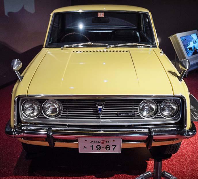 1600GT RT55型 1967年式のフロントビュー