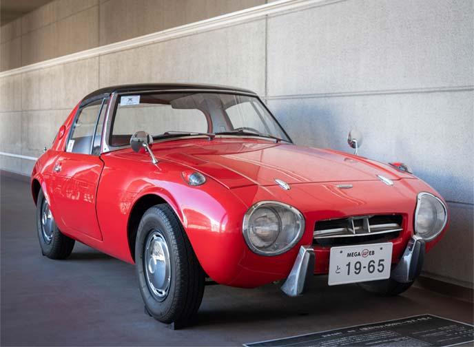 ヨタハチ(スポーツ800)UP15型 1965年式のフロントビュー