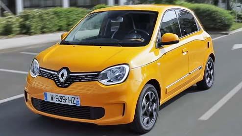 ルノー トゥインゴのマイナーチェンジ情報 特別仕様車も続々発売