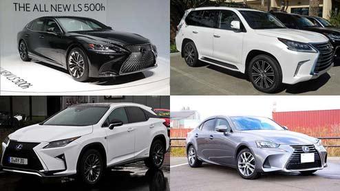 レクサスの車種一覧!全現行車種と中古で人気の歴代名車まとめ