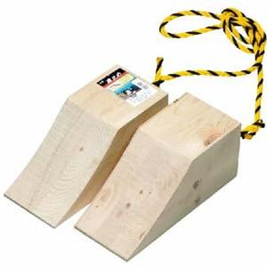 おすすめの浅野木工所 木製タイヤストッパー(車止め)