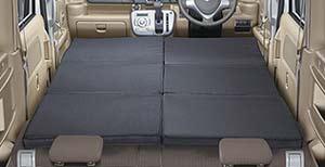 エブリイワゴンの車中泊用ベッドクッション