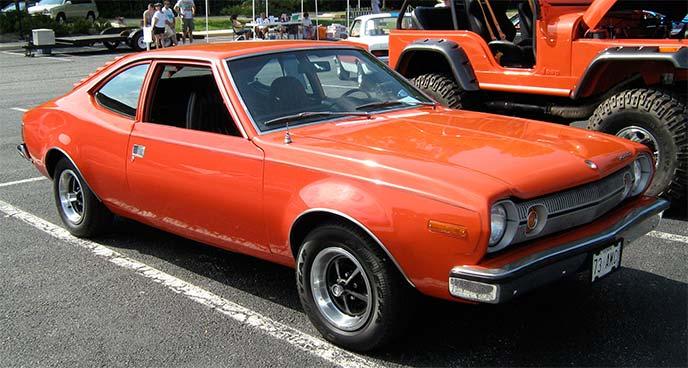 1973年式ホーネット・ハッチバック