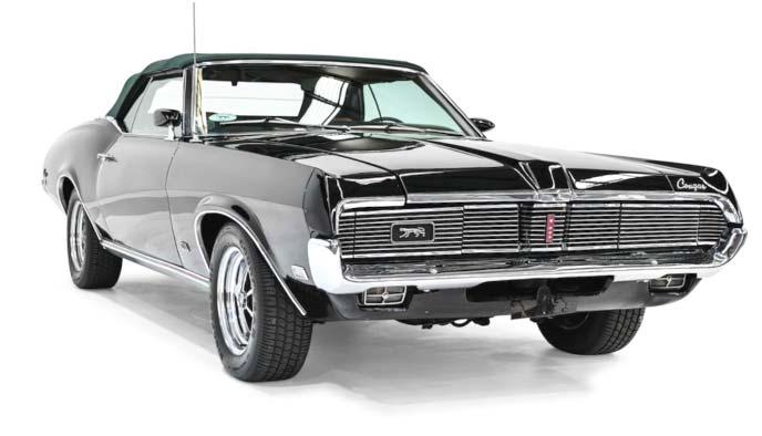 フォード マーキュリー・クーガーXR-7 1969年製