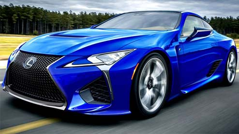 レクサスLC Fが2021年11月に発売か 国産車トップの最高出力620PSを発揮する可能性も
