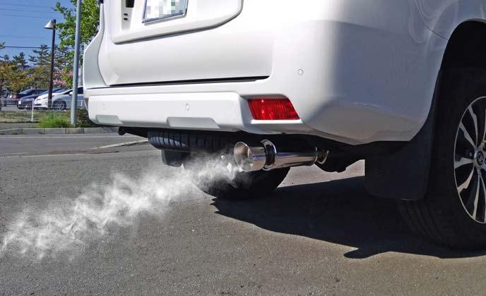 オイル交換をしないと白煙が出るようになる