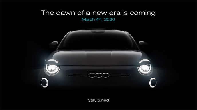フィアット500の新型モデル