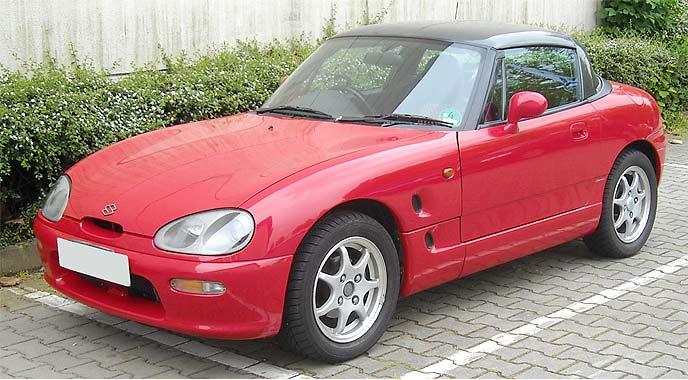 スズキ・カプチーノ EA11R型は1991~1995年発売