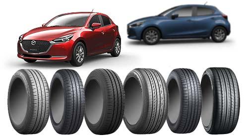 MAZDA2のタイヤ~快適性や操縦安定性の高い低燃費タイヤおすすめ10選