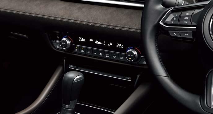 フルオートエアコンはMAZDA6全車に標準装備