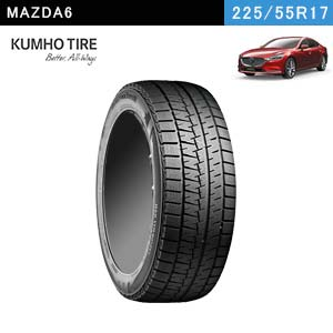 KUMHO TIRE WINTERCRAFT ice Wi61 225/55R17 97R