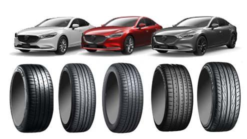 MAZDA6のタイヤ~低燃費/コンフォート/スポーツタイヤおすすめ10選