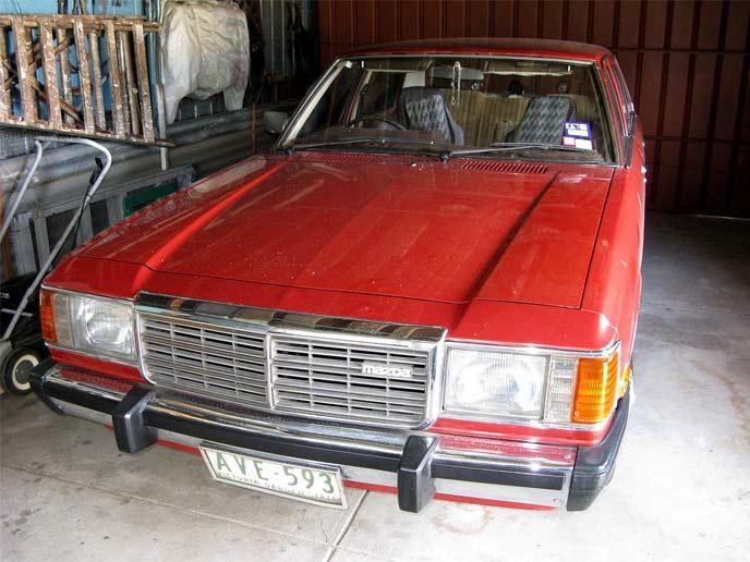 「RX-9」の車名で海外販売された3代目ルーチェ