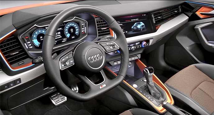 A1シティカーバーは「フルデジタル・インストルメントクラスター」や「MMIナビゲーションプラス」を装備