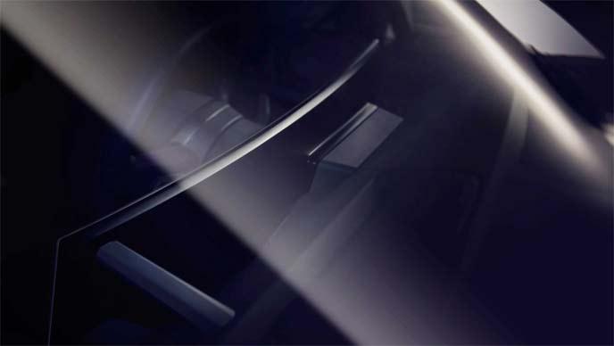 BMW iNEXTに搭載される大きな曲面ディスプレイ