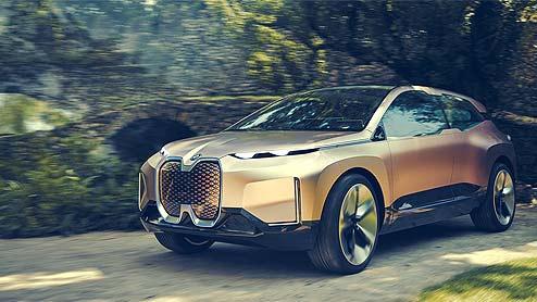 BMW iNEXTは電気で動くクロスオーバーSUV!EVモデルならではの先進的デザインが魅力