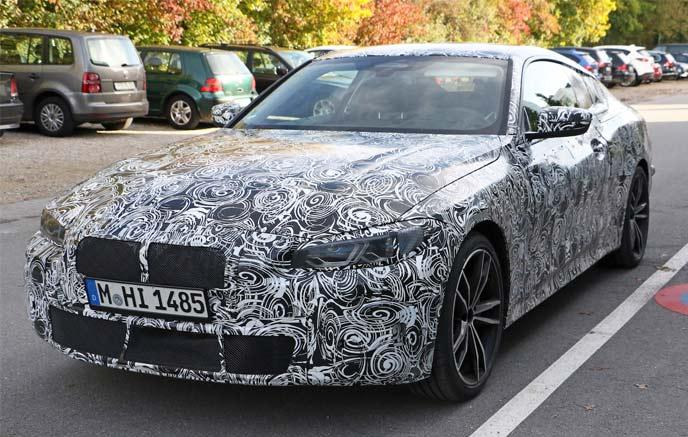 次期型BMW4シリーズの開発車両