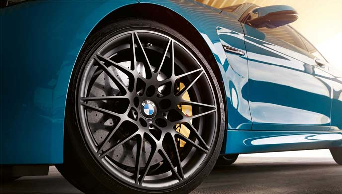BMW M4エディション/// Mヘリテイジが装着するアルミホイール