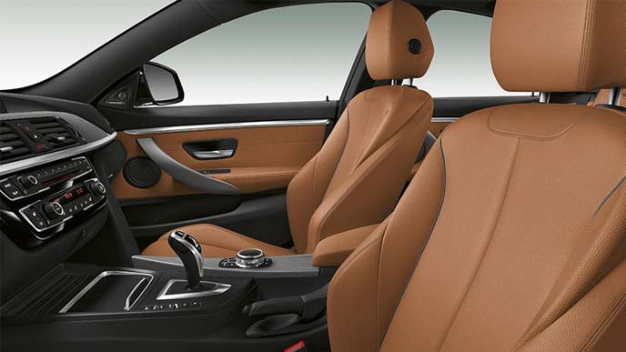 BMW4シリーズ グランクーペのインテリア