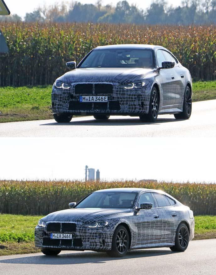 BMW4シリーズのEVエクステリア