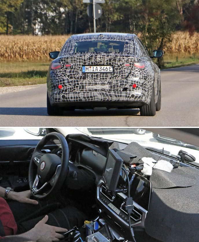 BMW4シリーズEVモデルのエクステリアと内装