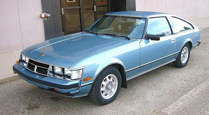 海外で発売された初代スープラ(日本車セリカXX