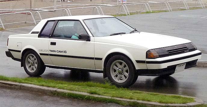 3代目セリカ後期型1600 GT-R