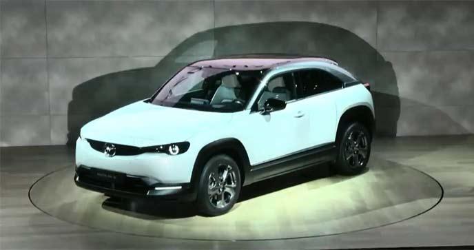 新型EV MAZDA MX-30