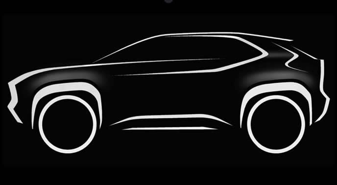 トヨタの新型コンパクトSUVの画像