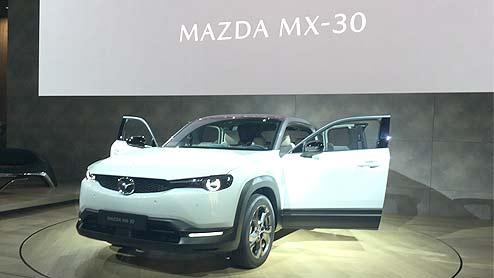 MX-30はマツダの新世代ピュアEV フリースタイルドアで積載性の高い一台