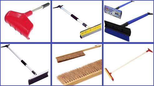 スノーブラシ20選!スクレーパー付きや伸縮タイプなど除雪ブラシのおすすめ品