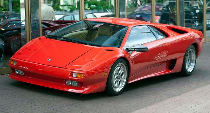 ディアブロ(1990~1998)リトラクタブル・ヘッドライト搭載モデル