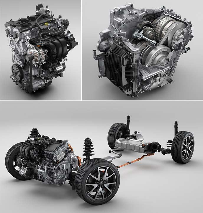 新型ヤリスのエンジンシステム