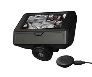 おすすめの情熱価格PLUS オービス位置データ&GPS機能対応 360°撮影カメラ搭載ドライブレコーダー 360DVRK95-BK