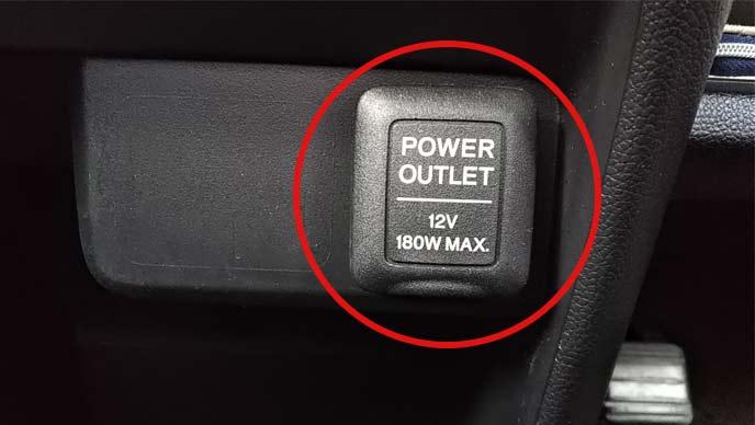 FMトランスミッターの対応電圧を確認