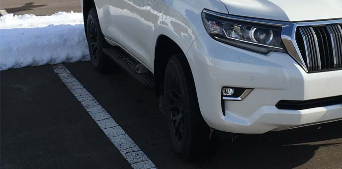 寒冷地に長時間駐車すると軽油の凍結が起こることもある
