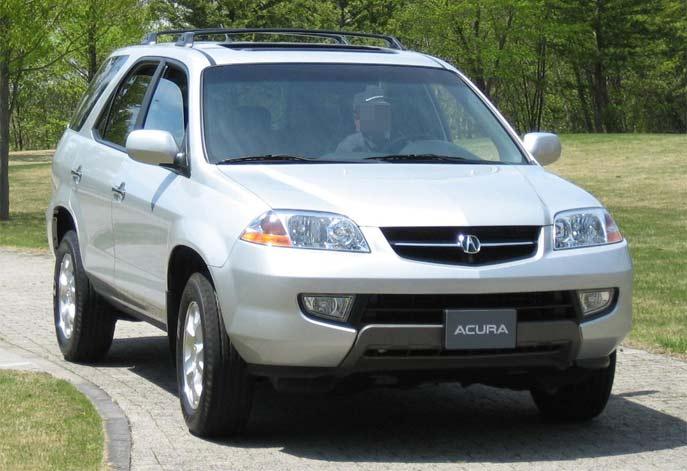 初代アキュラMDX(2001~2006)